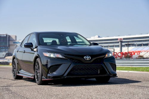 2020 Toyota Camry TRD Picture
